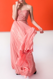 Marchesa Coral Gold Gown - Product Mini Image