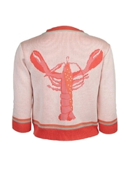 Palava Coral Lobster Cardigan - Product Mini Image