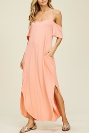 annabelle Coral Maxi Dress - Product Mini Image