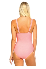 BikiUSA Coral One Piece - Front full body