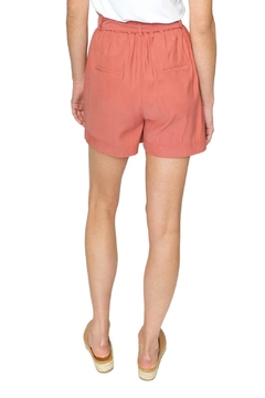FRNCH Coral Paperbaggy Shorts - Alternate List Image