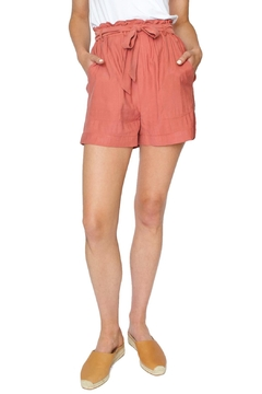 FRNCH Coral Paperbaggy Shorts - Product List Image
