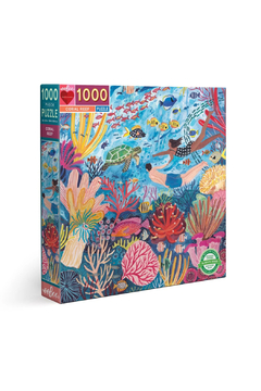 Eeboo Coral Reef 1000 Piece Puzzle - Product List Image