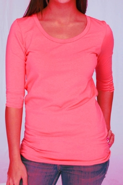 Shoptiques Product: Coral Scoop Tee
