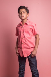 Mandy by Gema Coral Shirt - Front full body