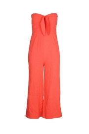MinkPink Coral Strapless Jumpsuit - Product Mini Image
