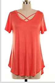 KITTY COUTURE  Coral Strappy Tunic - Product Mini Image