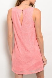 Adore Clothes & More Coral Summer Dress - Front full body