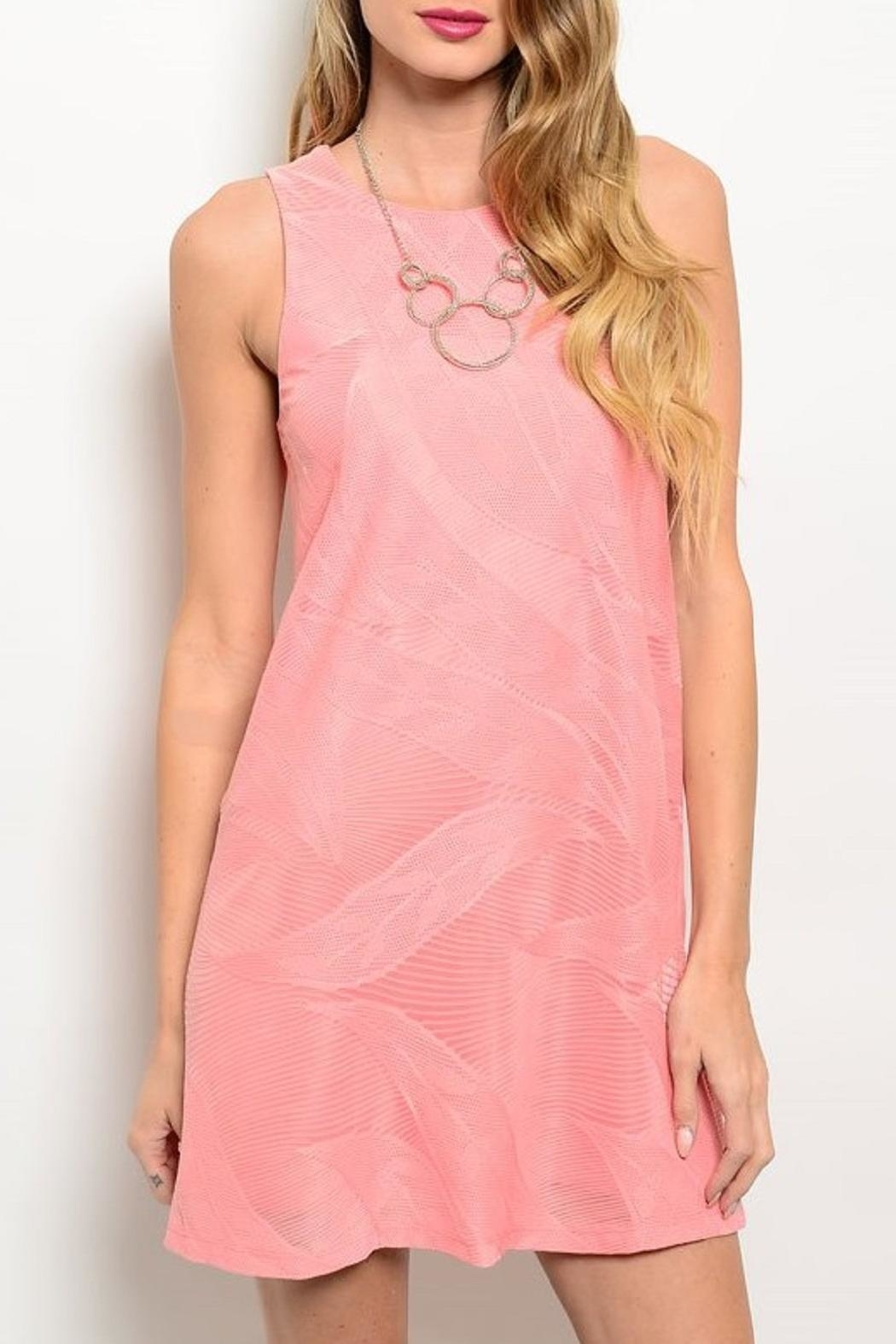Adore Clothes & More Coral Summer Dress - Main Image