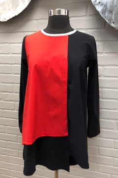 Chiara Cocol  Coral Swing Top - Product List Image