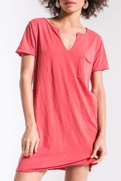 z supply Coral T-Shirt Dress - Product List Image