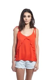 THML Clothing Coral Tank - Front cropped