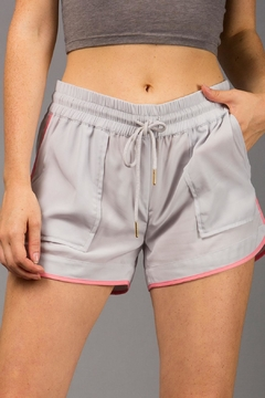 Shoptiques Product: Coral Trim Shorts