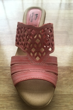 Spring Step  coral vino wedge - Product List Image