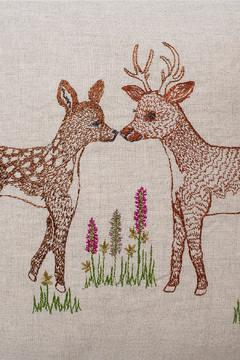 Coral & Tusk Deer Love Pillow - Alternate List Image