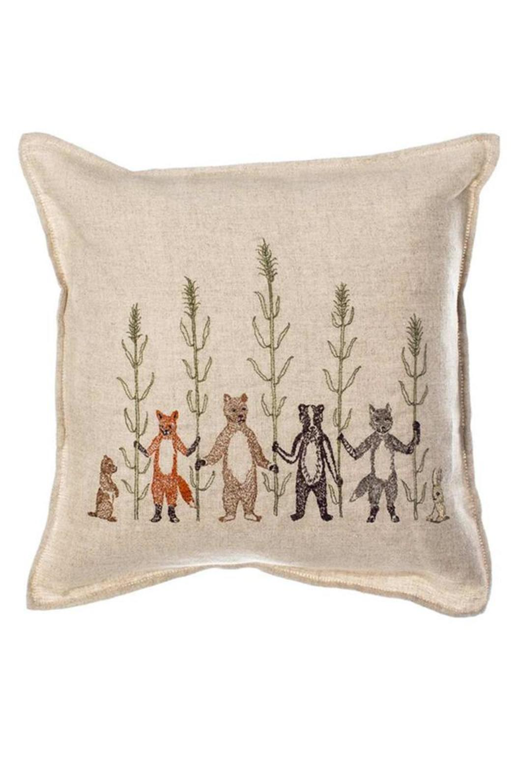 Coral & Tusk Embroidered Pillow Harvest - Main Image