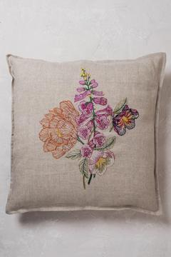 Coral & Tusk Foxglove Embroidered Pillow - Product List Image