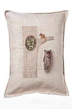 Coral & Tusk Pocket Pillow Owl-In-Tree - Alternate List Image