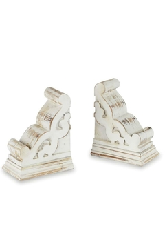 Mud Pie Corbel Book Ends - Product List Image
