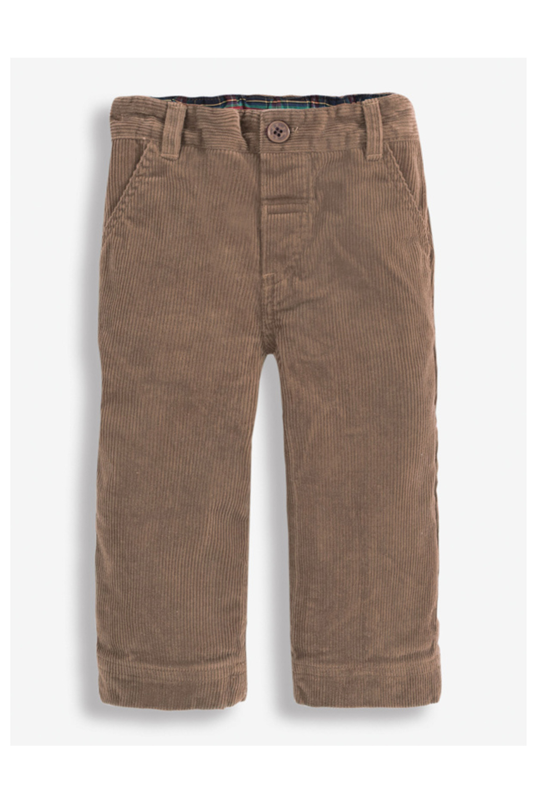 JoJo Maman Bebe Cord Trousers - Fawn - Front Cropped Image