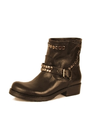 Cordani Black Leather Bootie - Product Mini Image