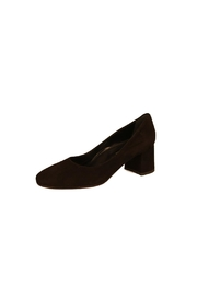 Cordani Black Suede Heel - Product Mini Image