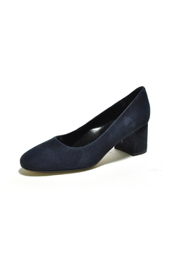 Shoptiques Product: Navy Suede Heel