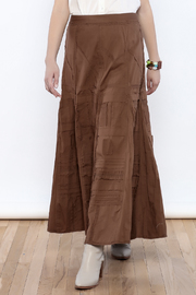Cordelia Olive Skirt - Product Mini Image