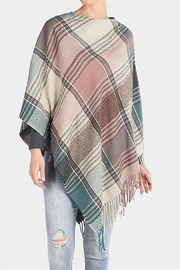 The Good Bead Cordova Plaid Poncho - Product Mini Image