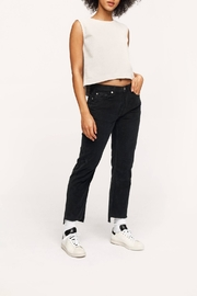 The Cords & Co Corduroy Boxy Crop - Product Mini Image