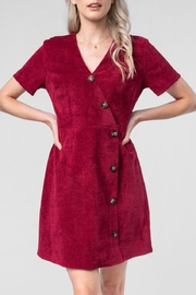 Everly Corduroy Button-Down Dress - Product Mini Image