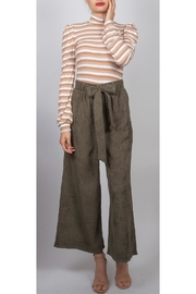 Final Touch Corduroy Cropped Pants - Product Mini Image