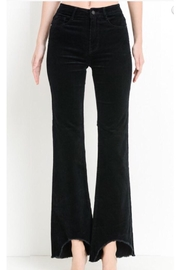Black Label Corduroy Flare Pants - Product Mini Image