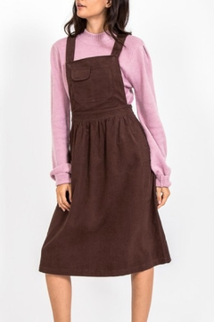 Shoptiques Product: Corduroy Jumper Dress