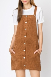 Trend:notes Corduroy Jumper Dress - Product Mini Image