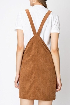 Trend:notes Corduroy Jumper Dress - Alternate List Image