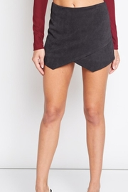 blue blush Corduroy Mini Skort - Product Mini Image