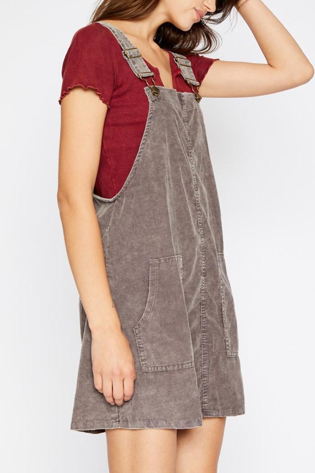 41d9ec877d1 Sadie   Sage Corduroy Overall Dress from New York by Luna — Shoptiques