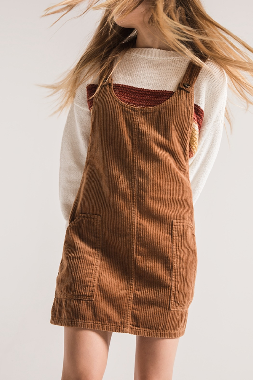 90783a489c1 Others Follow Corduroy Overall Dress from Kansas by Eccentricity ...