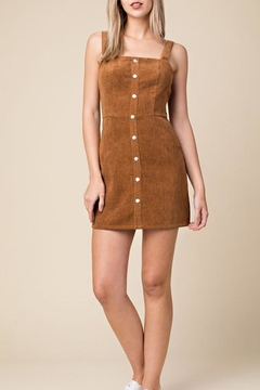 0a882fbe2038 ... Honey Punch Corduroy Overall Dress - Product List Placeholder Image