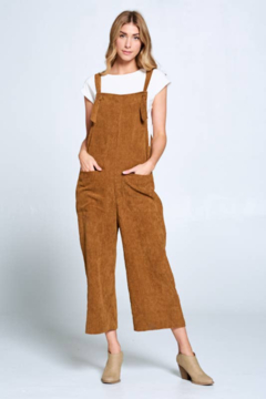 Ellison Corduroy Overalls - Alternate List Image