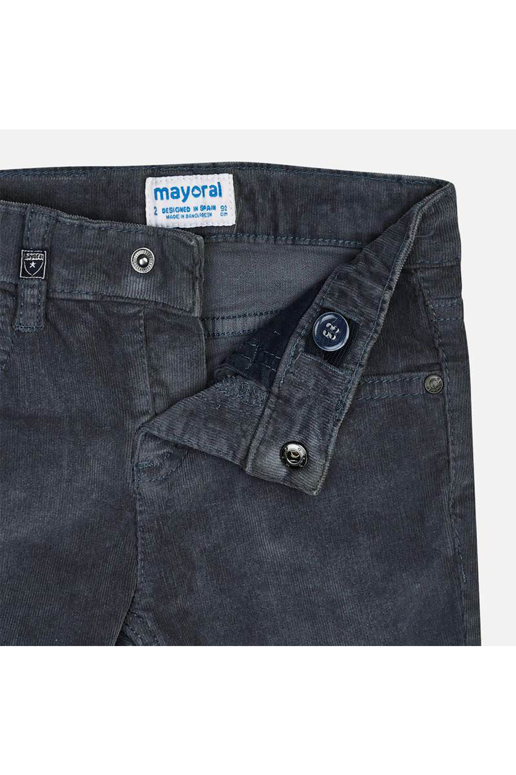 Mayoral Corduroy Pants - Side Cropped Image