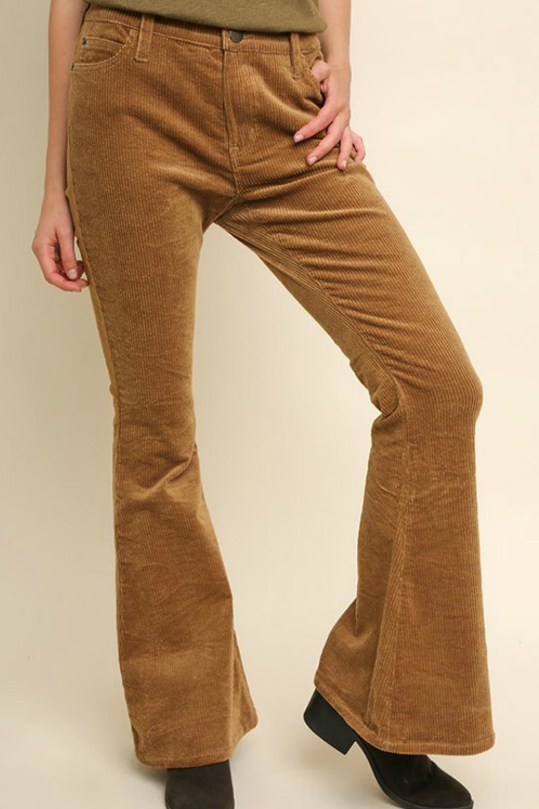 Style U Corduroy Pants - Front Cropped Image