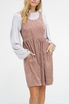Listicle Corduroy Pocket Dress - Alternate List Image
