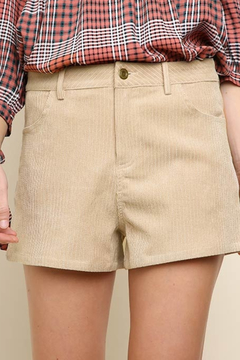 Shoptiques Product: Corduroy shorts