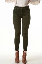 just black Corduroy Skinny Jean - Product Mini Image