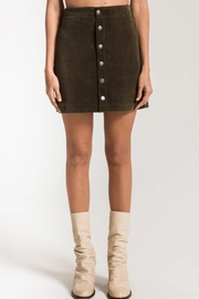 z supply Corduroy Skirt - Product Mini Image