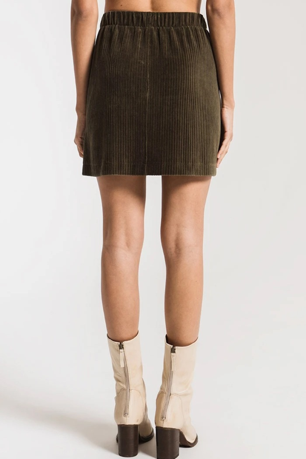 z supply Corduroy Skirt - Side Cropped Image