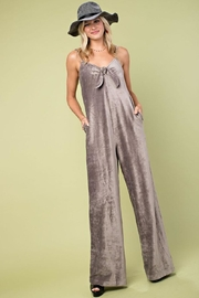 Main Strip Corduroy Wide-Leg Jumpsuit - Product Mini Image