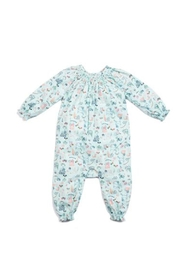 Egg  by Susan Lazar Corduroy Woodland Romper - Front cropped